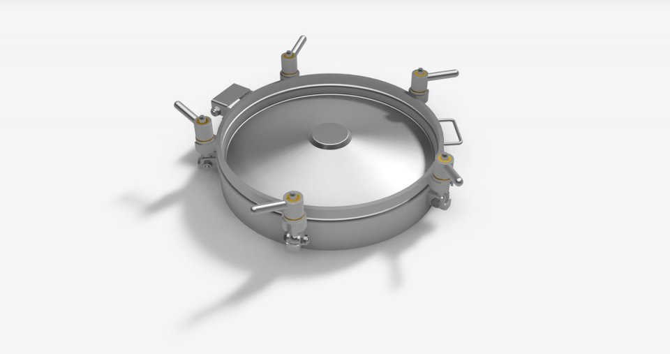 Round Pressure manholes, without PED, stamped cover - Series L10