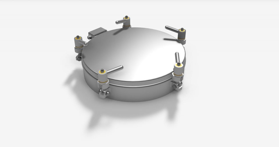 Round Pressure manholes without PED, retention free - Series L11